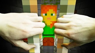 REALISTIC MINECRAFT - ALEX GETS ARRESTED!