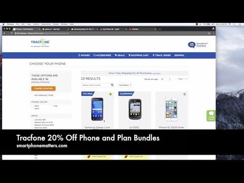 Tracfone 20% Off Phone and Plan Bundles