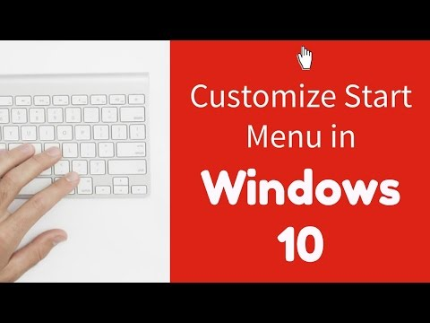 Windows 10 Tip #5: Customize what appears in your start menu