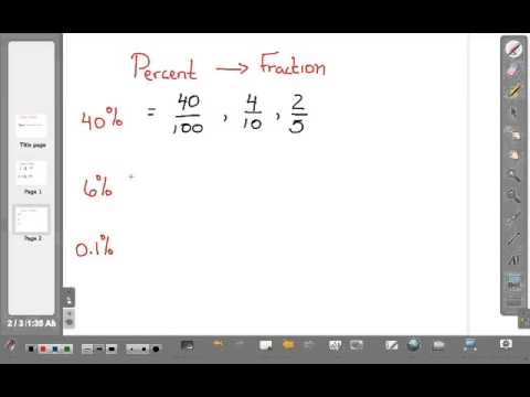 Math Video Training Course 2: Converting Fractions and Percents