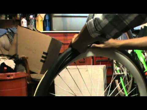 how to remove fixie tire