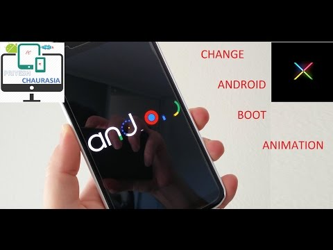 How To Easily Change Boot Animation of Any android phone (Root)