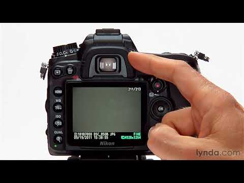 Nikon D7000 tutorial: Shooting with the continuous mode | lynda.com