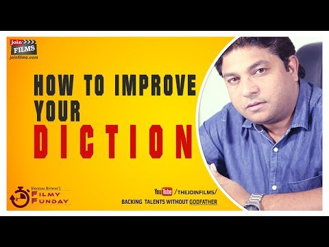 Haow to improve your diction ~ अपनी भाषा में सुधार कैसे करें | Filmy Funday #93 | Joinfilms