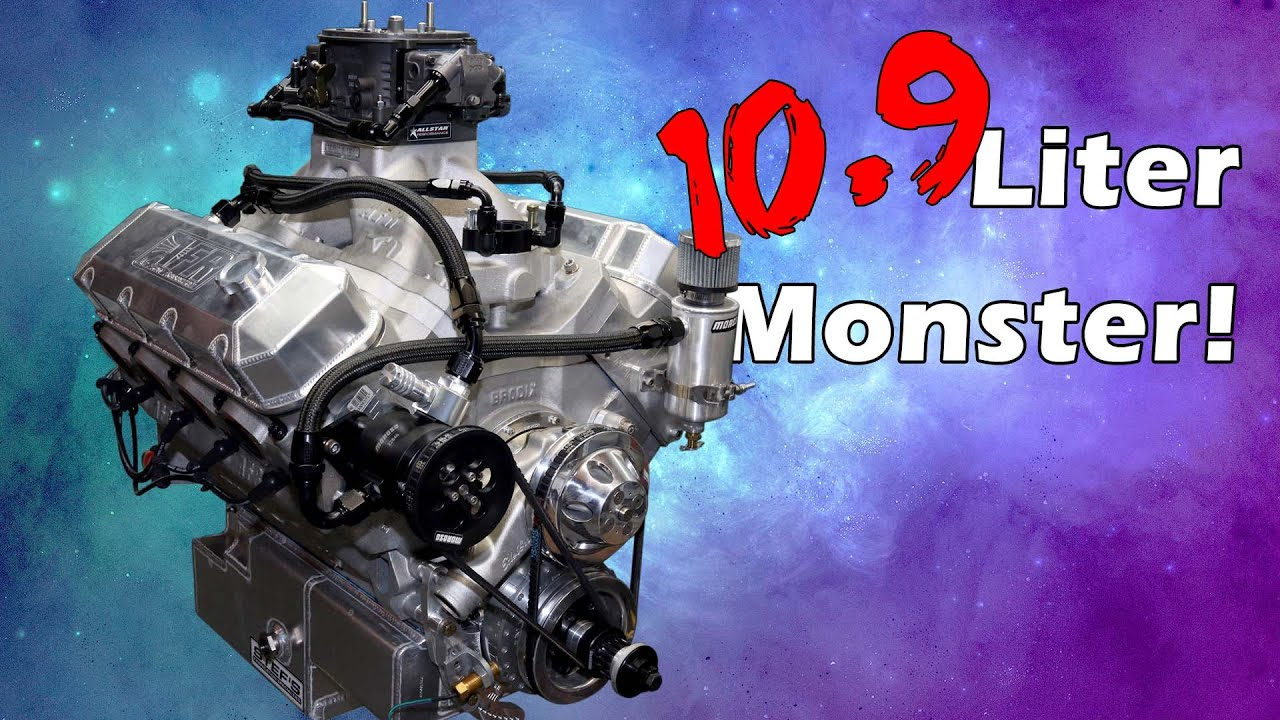 665 Cubic Inch (10.9 Liters!) Monster Big Block Engine Build [The Displacement King]