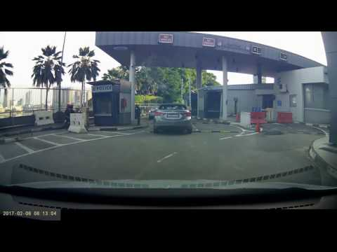 Travelling to Malaysia by car - counting the road bumps !