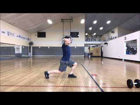 Walking Lunge Exercises