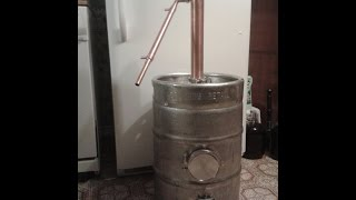 How To Make A Beer Keg Still