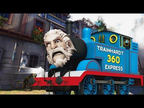 Overwatch Nonsense #2 - I like Trainhardts
