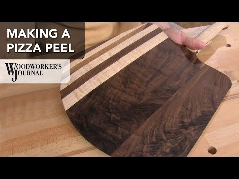 How to Make a Pizza Peel - Woodworking Project Plan - Sponsored by JET