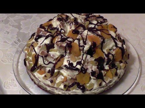 Торт кудрявый пень рецепт фото