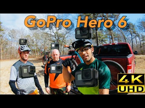 Mountain Biking with the GoPro Hero 6 | No Gimbal Needed? | Freshly Cut Trails