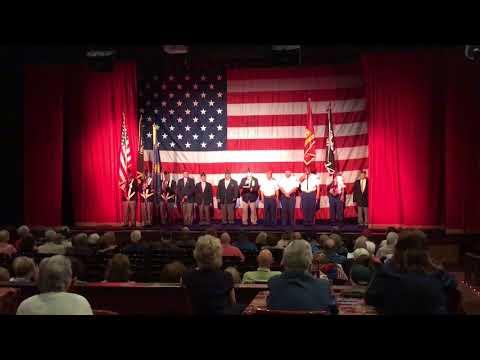 Color Guard Service at The Noel S. Ruiz Theatre