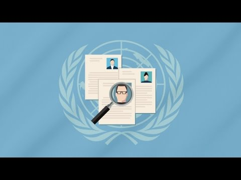 United Nations Jobs Guide - Personal Profiles for Serving Staff Members