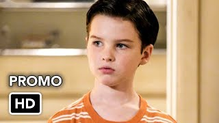 """Young Sheldon 1x08 Promo """"Cape Canaveral, Schrödinger's Cat, and Cyndi Lauper's Hair"""" (HD)"""