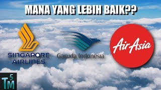 5 Maskapai Penerbangan Terbaik Di Asia Tenggara