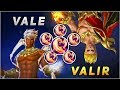 Vale Vs Valir The Brotherhood Fight They Have Similarities Full Magic Power Build