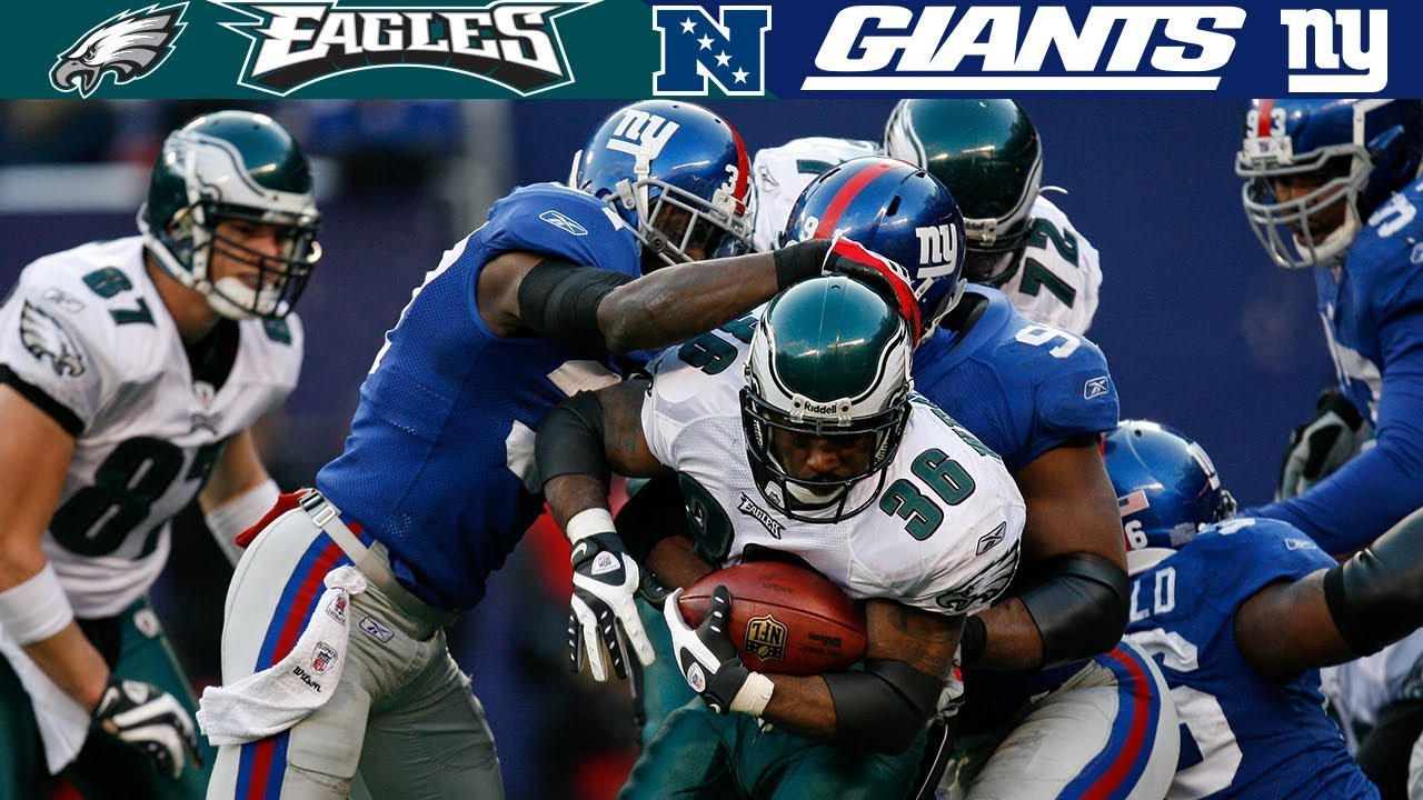 An Epic Upset in the Meadowlands! (Eagles vs. Giants, 2008 NFC Divisional Round)