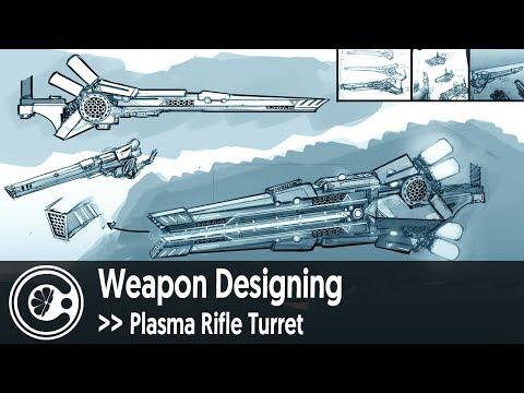 Weapon Designing - Plasma Rifle Turret