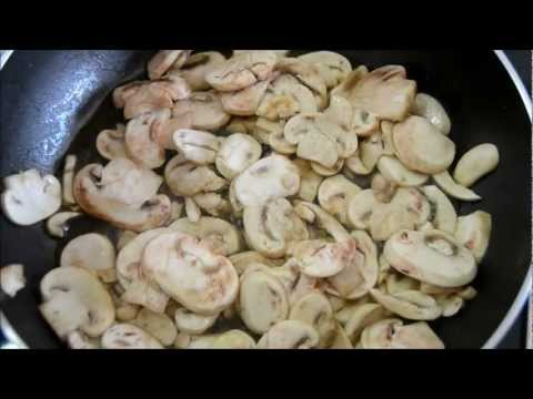 Mushrooms and Caramelized Onion  with Chicken
