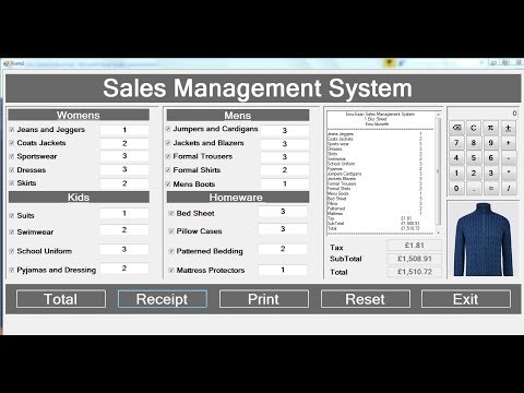 How to Create Sales Management System with Print Control in C# - Part 2 of 3
