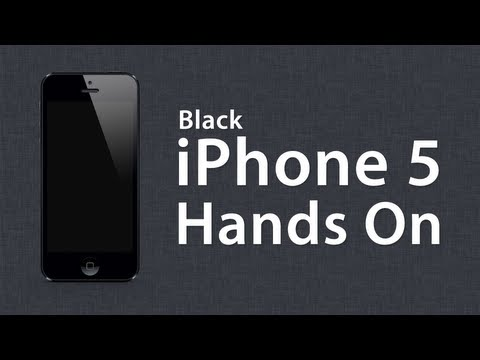 iPhone 5 Hands On Overview / Unboxing - Black 32GB Model Review