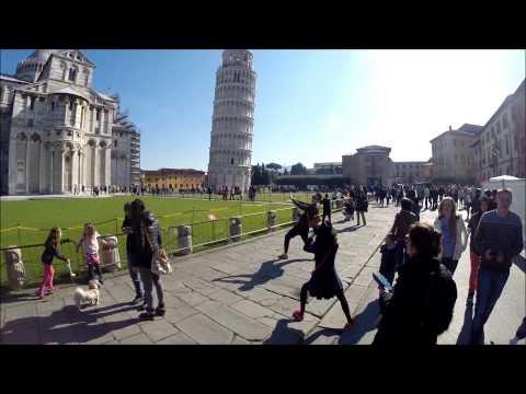 Pisa a Lucca