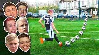 THE BEST FOOTBALLER ON YOUTUBE