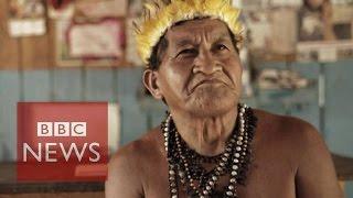 Amazon tribe fights Brazil dam project - BBC News