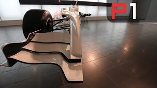 Formula 1 car cut in half!