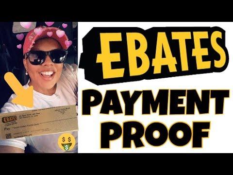 🤑Ebates Payment Proof (2018)   👩🏽💻My Online Journey Vlog 13
