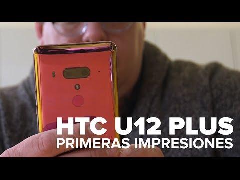 Olvida los botones: El HTC U12 Plus funciona con apretujones y tacto