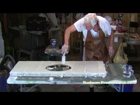 Applying Cement Board - HardiBacker to Counter Top or Vanity
