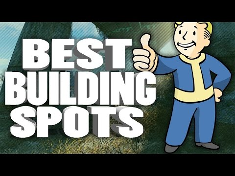 FALLOUT 4: BEST BUILDING SPOTS (Building/Crafting Location Tutorial)