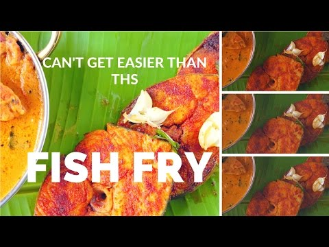 How to make Vanjaram Fish Fry | How to make surmai fish fry