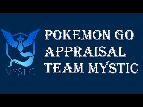 Pokemon Go - Appraisal Feature IV Checker - Team Mystic Blanche - Discussion Overview Explained