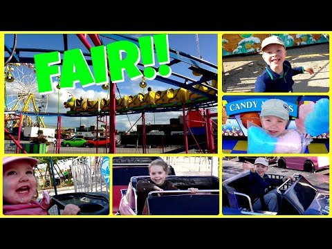 A Fun Day at the Fair - Going to the Fair - Fun Family Outing