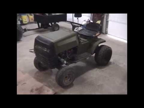 Turning  An Old Riding Mower into a ATV,Utility Vehicle, Or