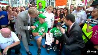WWE Star John Cena Grants 300th Wish Through Make-A-Wish Foundation