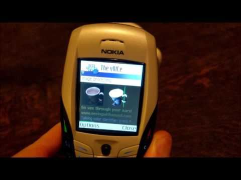 Nostalgia: Nokia 6600 still running The vOICe MIDlet in December 2016!