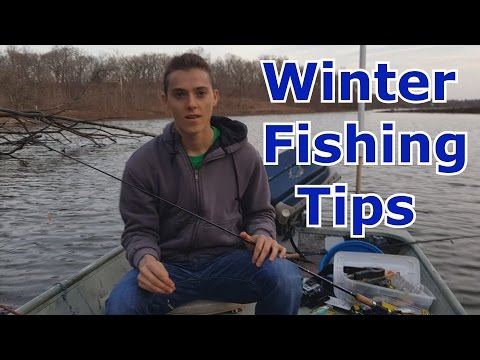 Winter Fishing for White Bass, Bluegill, and other random Species - Tips