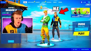 I joined Youtubers Lobbies with their *OWN* Skins!