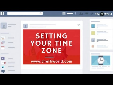 Setting your Time Zone  - The FB World -  Free Facebook Auto Poster
