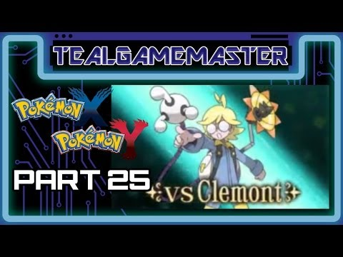 Pokemon X and Y - Part 25: Lumiose City Gym - Gym Leader Clemont - Gym Battle 5