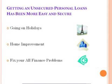Unsecured Personal loans 2016 online - kenmegdoug
