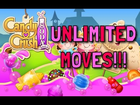 CANDY CRUSH SODA| UNLIMITED MOVES!!!| TUTORIALS WITH CLASHMAN