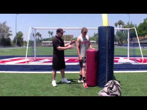 Wizard Sports Kicking and Punting Leg Lock Speed Bag Instructional Video