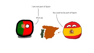 Why Portugal is not part of Spain?