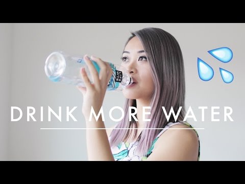 10 Ways to Drink More Water 💦