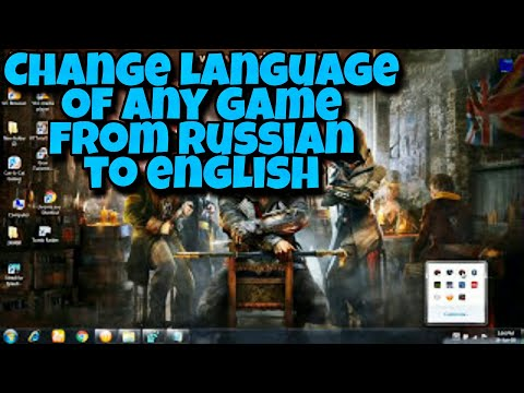 How To Change Language Of Any Game From EnglishRussian To English(Only When The Game is In C:Drive)